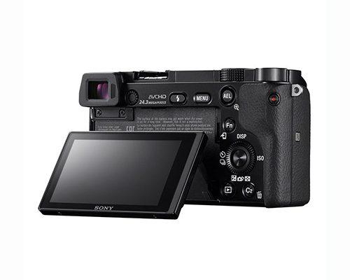 Sony Alpha A6000 ICL systeemcamera Body Zwart