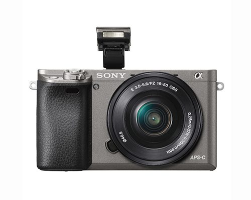 Sony Alpha A6000 ICL systeemcamera Graphite + 16-50mm OSS