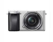 Sony Alpha A6300 systeemcamera Zilver + 16-50mm OSS