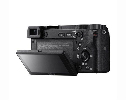 Sony Alpha A6300 systeemcamera Zwart + 16-50mm OSS