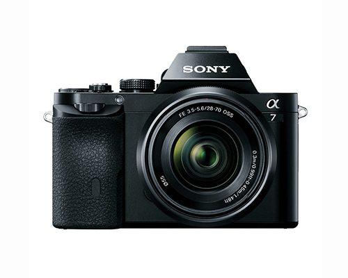 Sony Alpha A7 systeemcamera + 28-70mm OSS